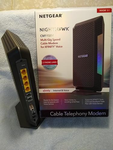 Nighthawk modem