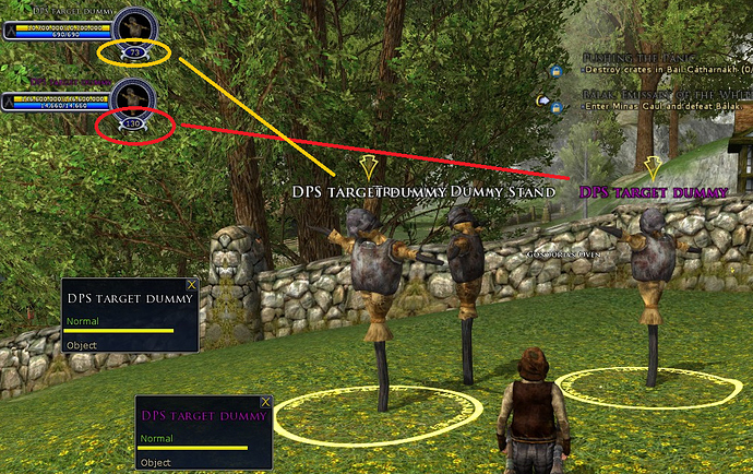 Housing Training Dummy Lord Of The Rings Online Old Timers Guild