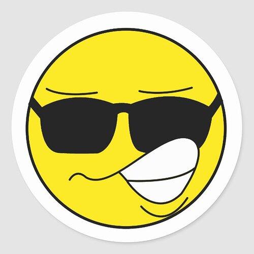 elvis_like_smiley_face_classic_round_sticker-r7b08585cf73d48b19a1c44b0dfb7e90d_v9waf_8byvr_630