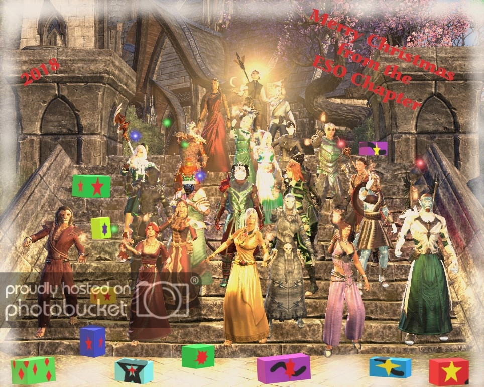 Merry Christmas Otg From The Eso Chapter Elder Scrolls Online Old Timers Guild