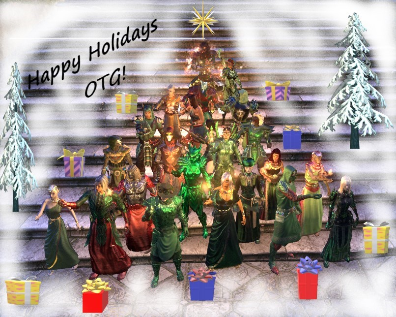 Happy Holidays Otg Elder Scrolls Online Old Timers Guild